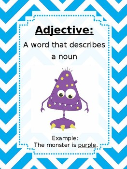 Monster Adjectives