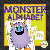 Monster Alphabet Activities | Letter Formation Practice fo