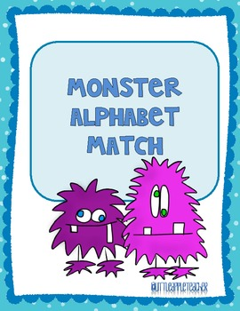 Monster Alphabet Cards