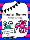 Monster Alphabet Clip Card Activity