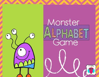 monster alphabet game by aj bergs teachers pay teachers