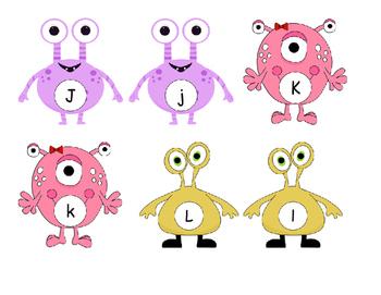 Monster Alphabet Sort