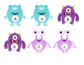 Monster Alphabet Sort