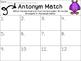 Monster Antonym Match