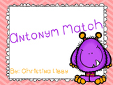 Monster Antonym Match