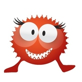 Monster Clip Art (10 Toothy Monsters)