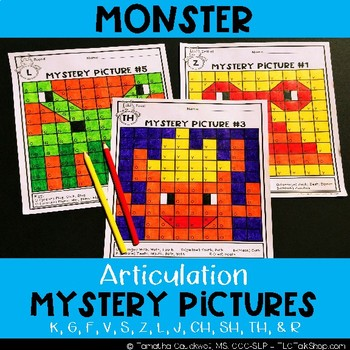Monster: Articulation Mystery Pictures