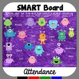 SMARTBoard Attendance Monsters