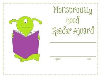 Monster Award Pack!!