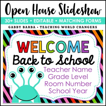 Monster Back to School PowerPoint