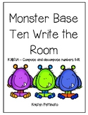 Monster Base Ten Write the Room