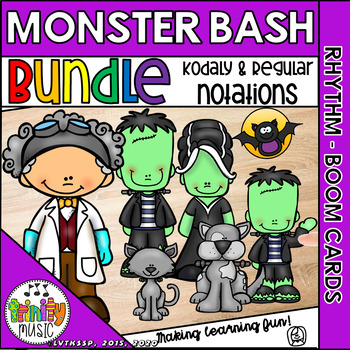 Monster Bash (Rhythm BUNDLE) Interactive Game