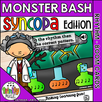 Monster Bash (Syncopa) Interactive Game