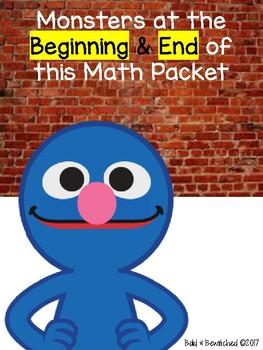 Monster Beginning & End Math