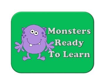 Monster Behavior Chart