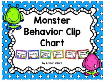 Behavior Clip Chart {Monster}