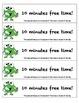 Monster Behavior Incentive Reward Certificates