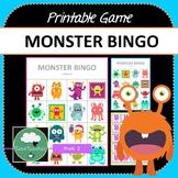 Monsters Bingo Game