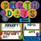 Birthday - Monster Theme - Editable