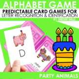 Party Animals Memory and ABC Game editable