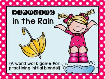 Blending for All Seasons: Word Work Games- Aligned with 1s
