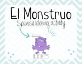 """Spanish"" El Monstruo - Monster Body Parts Activity"