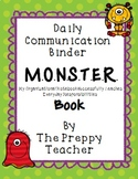 Monster Book Daily Communication Binder