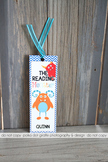 The Reading Monster Bookmark -add your custom text