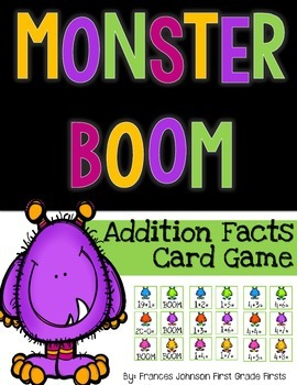 Monster Boom: Addition Facts Game