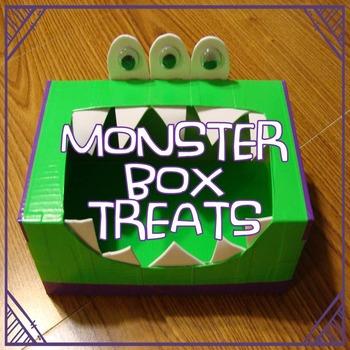 Monster Box Treats (open-ended craftivity fun)