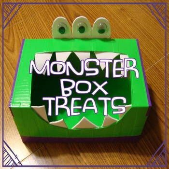 Monster Box Treats (open-ended craftivity fun)