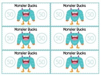 Monster Bucks (Classroom Management System)