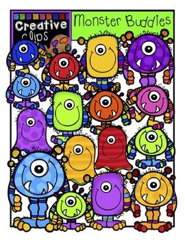 Monster Buddies {Creative Clips Digital Clipart}