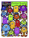 Monster Buddies {Creative Clips Digital Clipart}