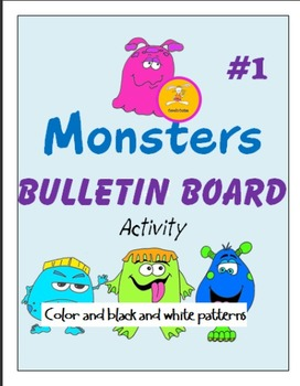Monster Bulletin Board Activity One