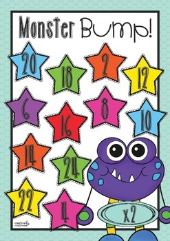 Monster Bump: Times Tables Practice
