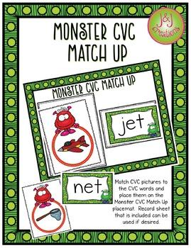 Monster CVC Match Up
