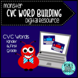 Monster CVC Word Building (Digital Resource)