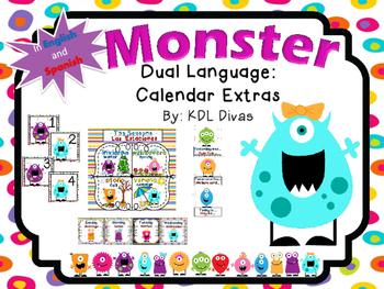 Monster Calendar Extras