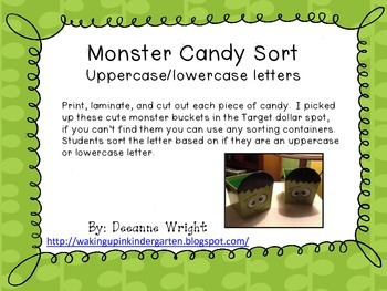 Monster Candy Sort