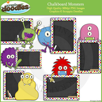 Monster Chalkboards