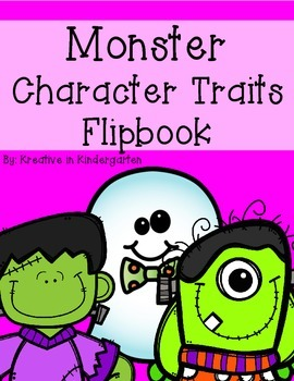 Monster Character Traits Flipbook