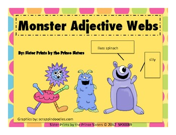 Monster Character Webs
