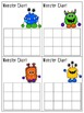 Monster Charts - Behavior Incentive Charts