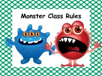 Monster Class Rules