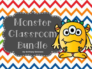 Monster Classroom Bundle