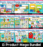 Monster Theme Classroom Decor Mega Bundle