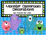Monster Classroom Decorations