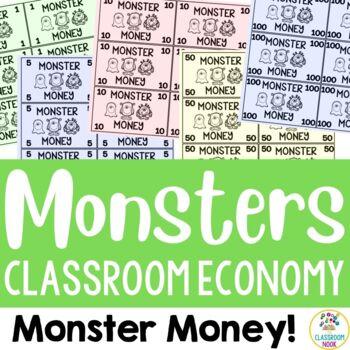 Monster Theme:  Classroom Economy