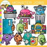 Monster Classroom Jobs Clip Art